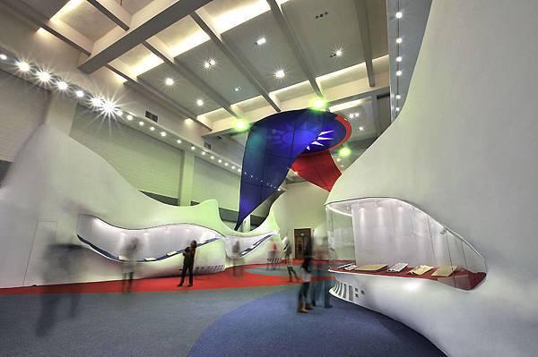 台灣國父紀念館常設展場,完工