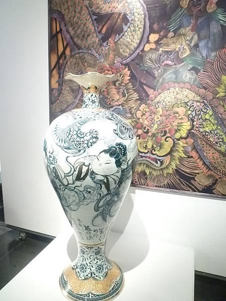 楊莉莉於陶瓷博物館展出