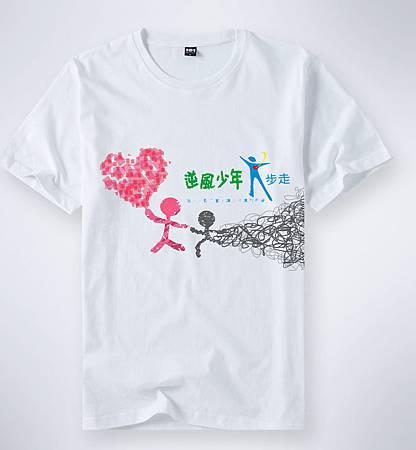逆風T shirt 設計