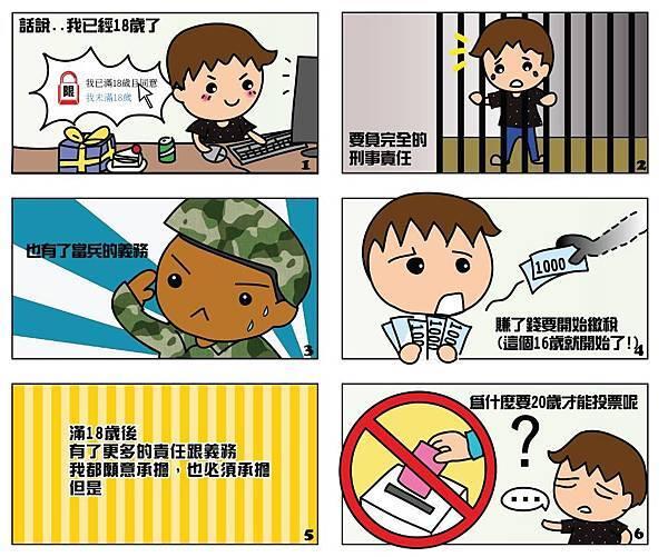【漫畫】投票年齡怎麼看.jpg