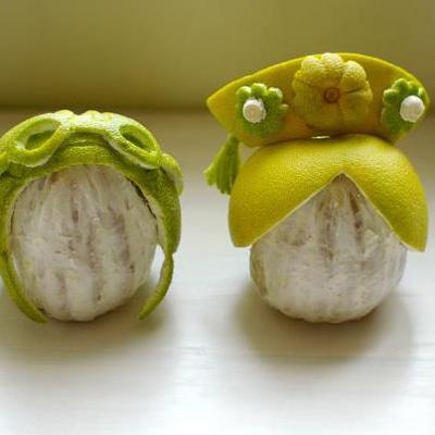 DIY-中秋節柚子帽手工勞作