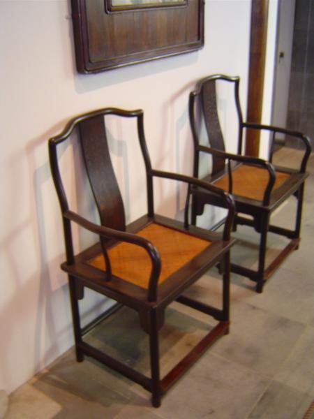 大都會.明軒.明式紫檀木椅