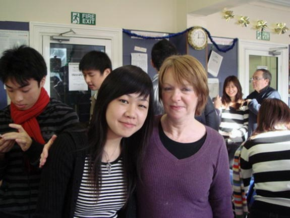 和老師Teresa