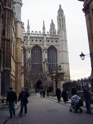 和朋友去Cambridge