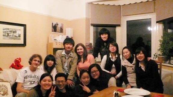 和亞洲同學一起過除夕夜3