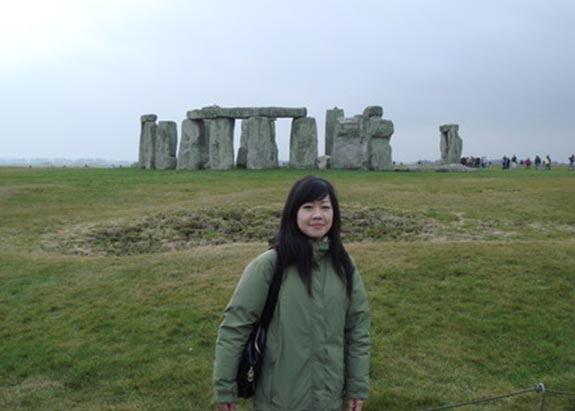 和同學一起去Stonehenge