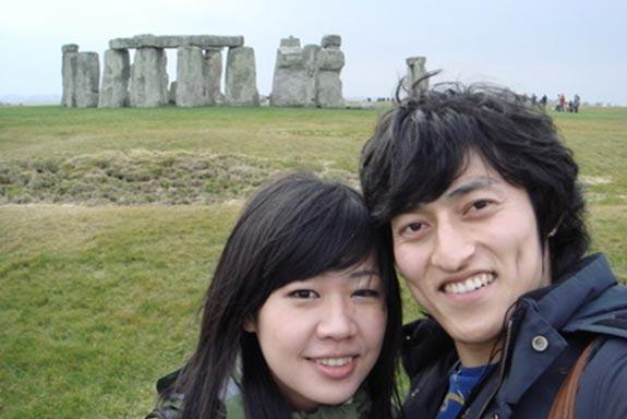 和同學一起去Stonehenge2