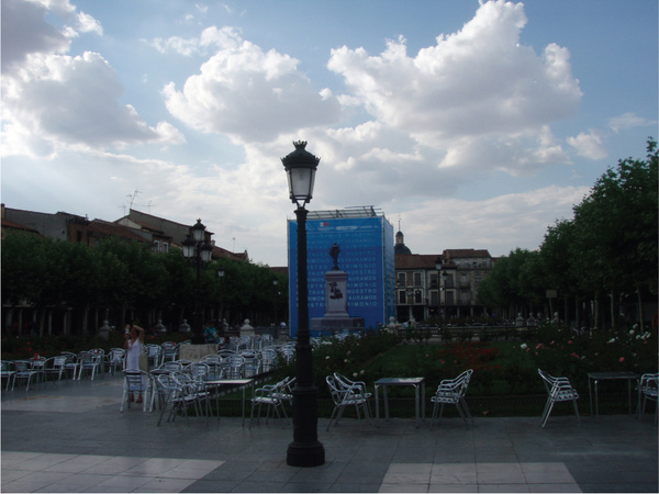 "3 Alcala-This is where I live. ''La Plaza Cervantes"" (In the morning).jpg"