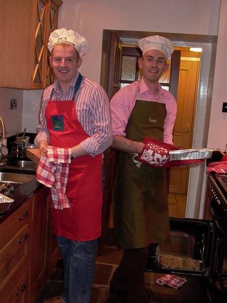 下午到他們大兒子家吃聖誕餐