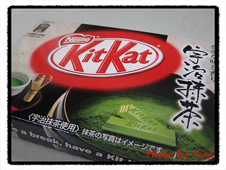 KitKat抹茶巧克力餅乾01