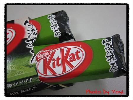 KitKat抹茶巧克力餅乾03