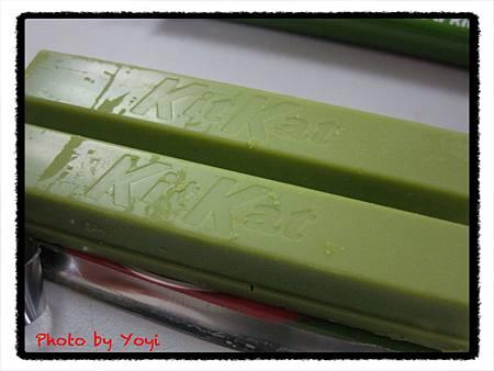 KitKat抹茶巧克力餅乾05