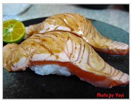 阿宏日式料理05(炙燒鮭魚握壽司70)