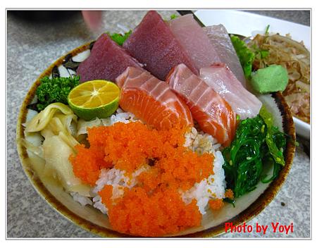 阿宏日式料理07(生魚片蓋飯120)