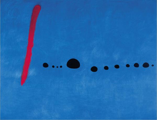 瓊‧米羅(Joan MIRO)‧藍色二號(Bleu II).jpg