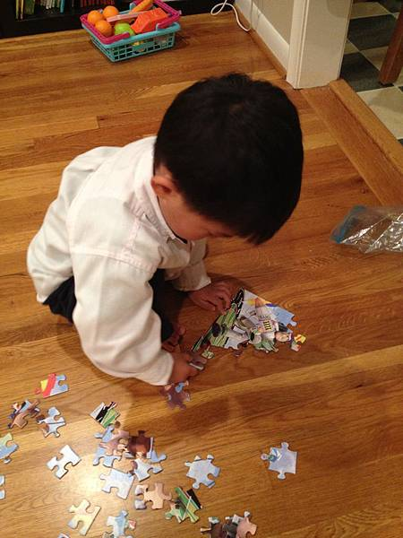 Janathan like to play puzzle.