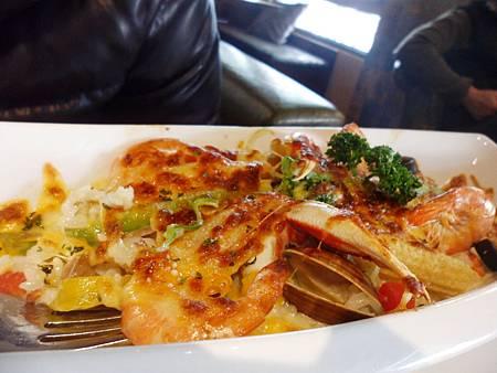 (焗烤燉飯系列)-地中海海鮮燉飯
