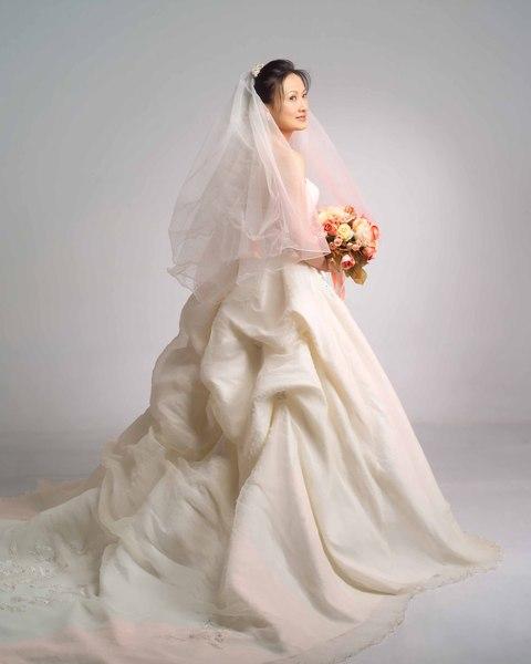 美麗的白紗