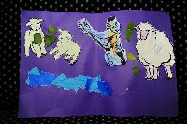 兒童排作品_牧童湯姆和他的羊