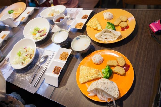 八仙山莊早餐