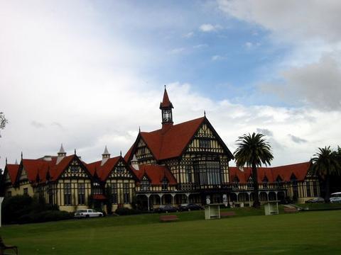 Rotorua 的 Bath House