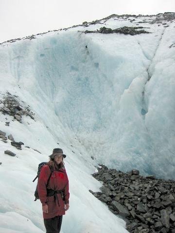 爬冰河的嚮導