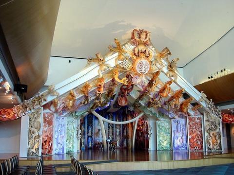 Wellington 的 Te papa 博物館