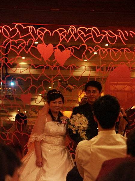 婚宴正式開始