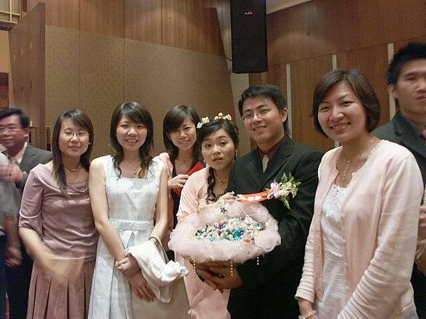 新娘表情很錯愕