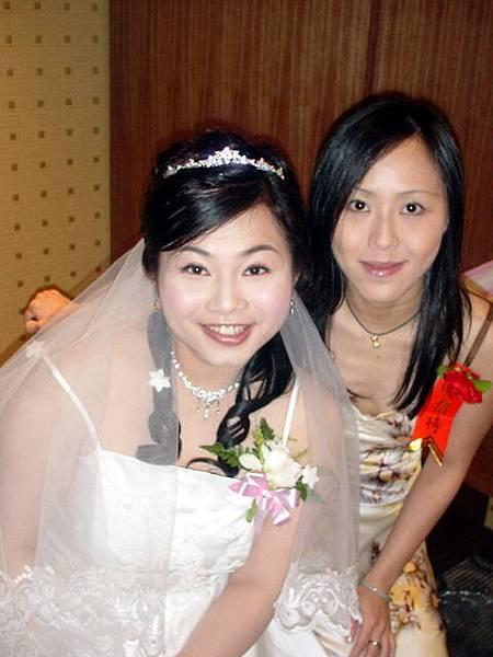 小萬和新娘