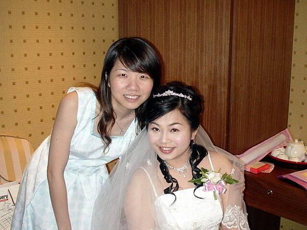 怡璇和新娘