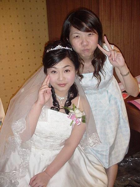 怡璇和新娘再照