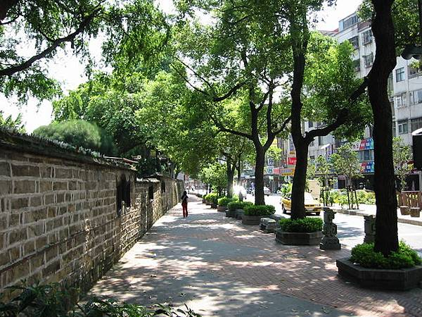 林家花園外牆