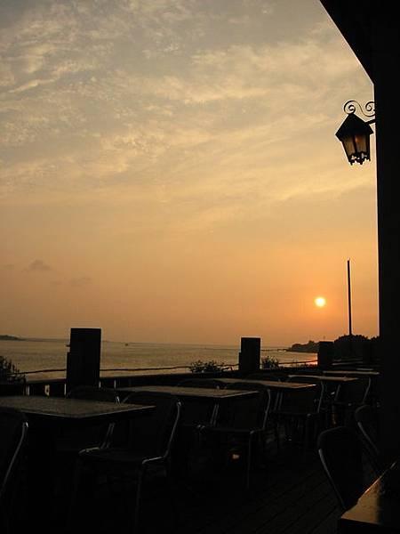 七夕的夕陽唷