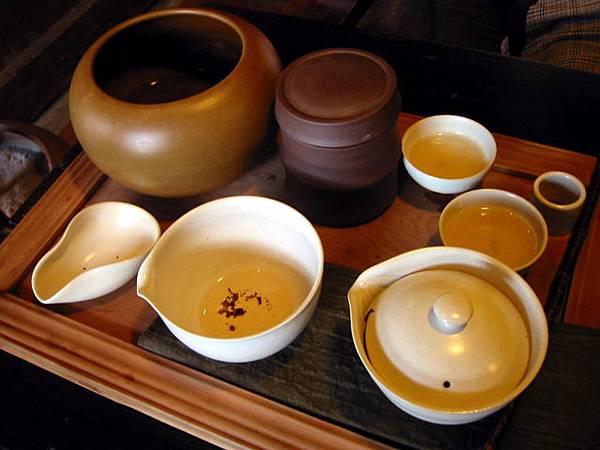 九份茶坊的茶具