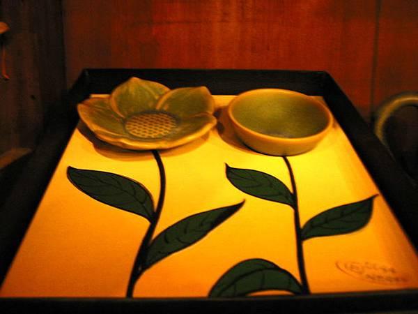 九份茶坊內藝術館的作品