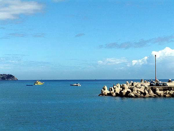 粉鳥林漁港 - 遠眺太平洋