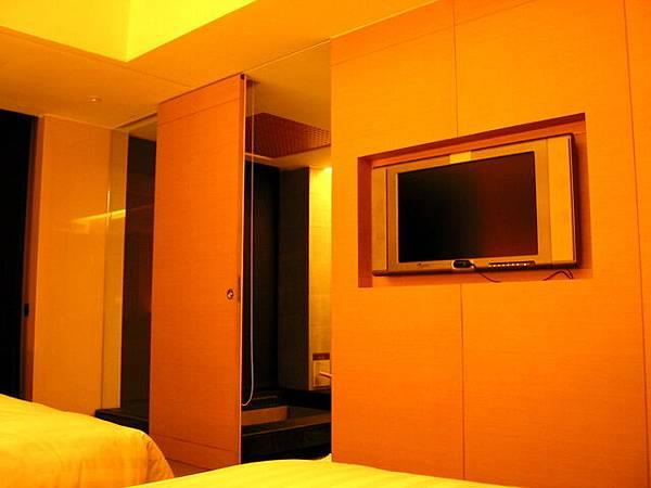 台中清新飯店飯店內台數不是很多的液晶電視