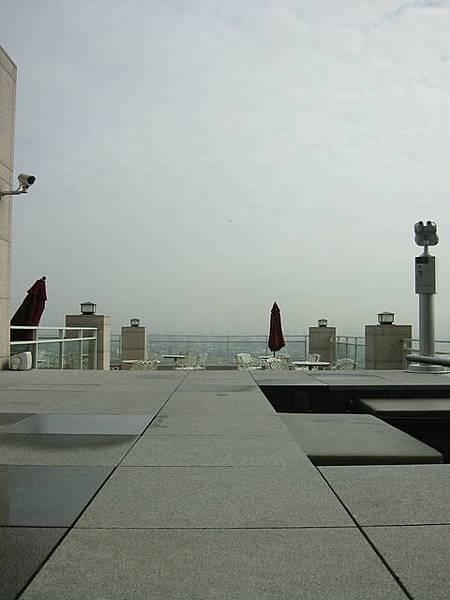 台中清新飯店室外平台