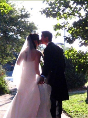 0421 Kissing birde and groom 變化型