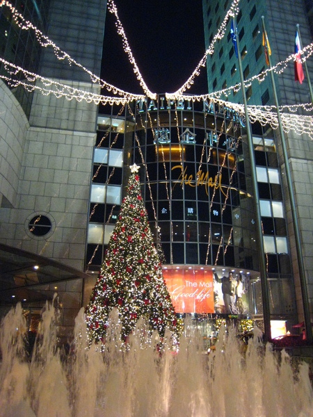 20081209 遠企聖誕樹