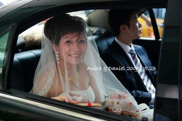 新娘的情緒轉換的很快的
