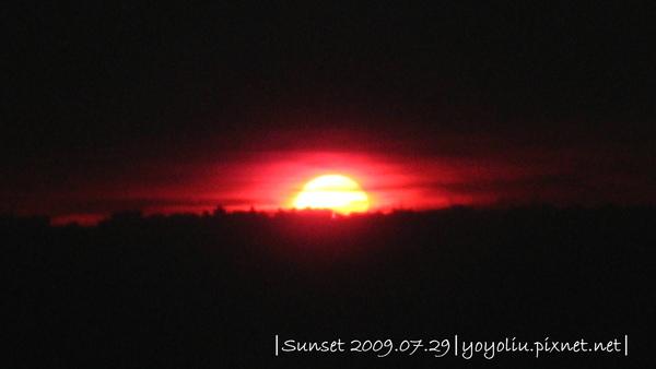 20090729 日落