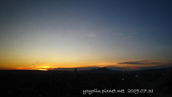 20090731 日落