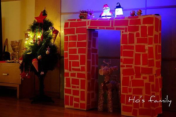 紙箱玩具聖誕節DIY