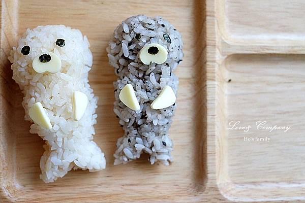【親子料理】兒童早餐海豹便當6.JPG