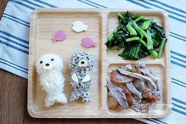 【親子料理】兒童早餐海豹便當9.JPG