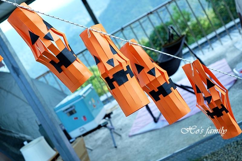 【萬聖節佈置】南瓜燈籠摺紙勞作DIY.JPG