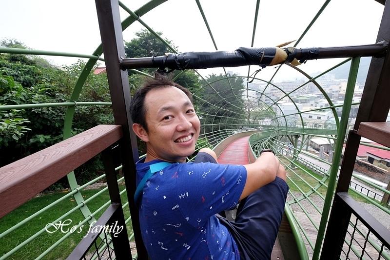 高雄新景點哈瑪星滾輪溜滑梯18.JPG
