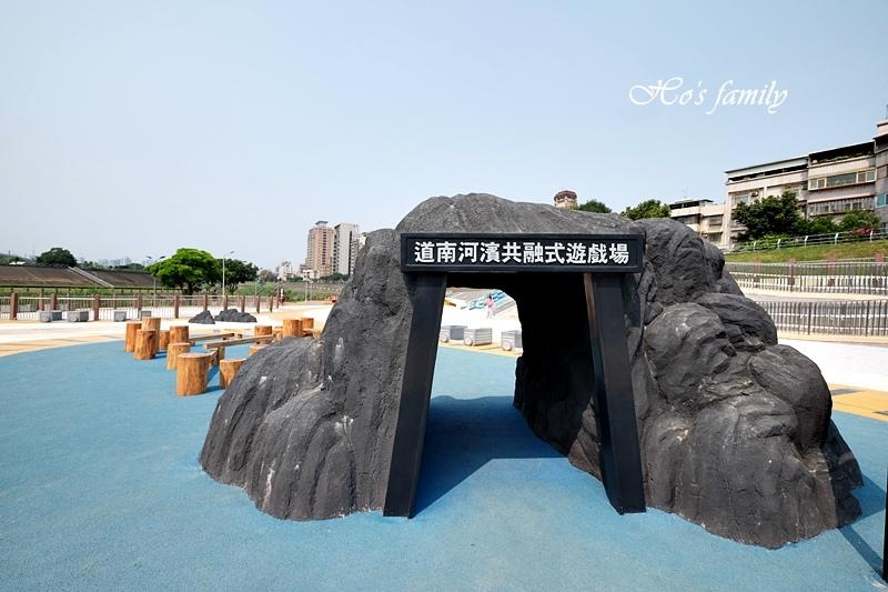 【台北木柵特色公園】道南河濱公園遊戲場4.JPG